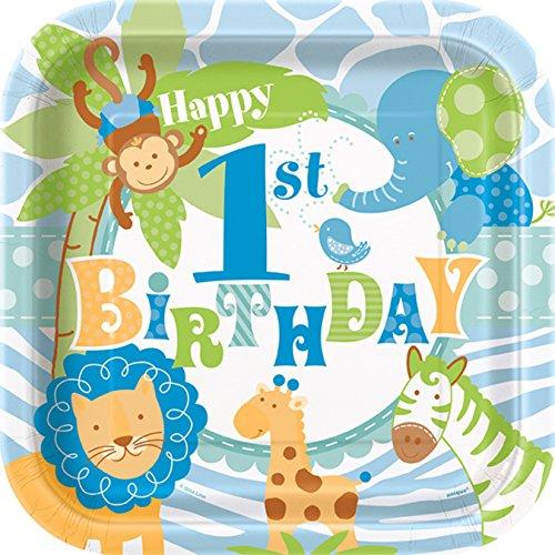 1st Birthday Boy Zoo