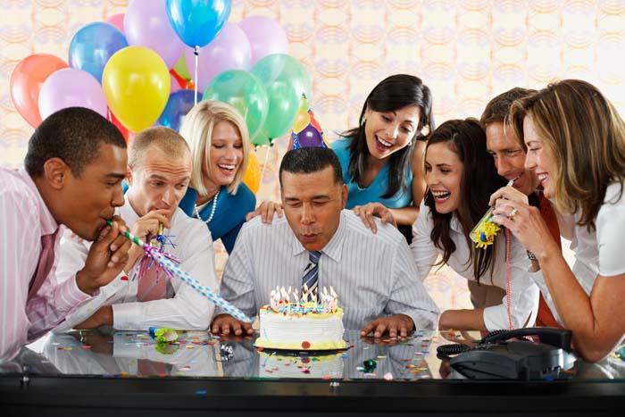 С днем рождения офисные