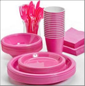 Hot Pink Tableware